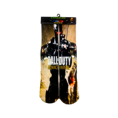 SWIZZLED OUT SOCKS SOCK Xbox One Playstation 4 Call of Duty Advance Wafare Sock