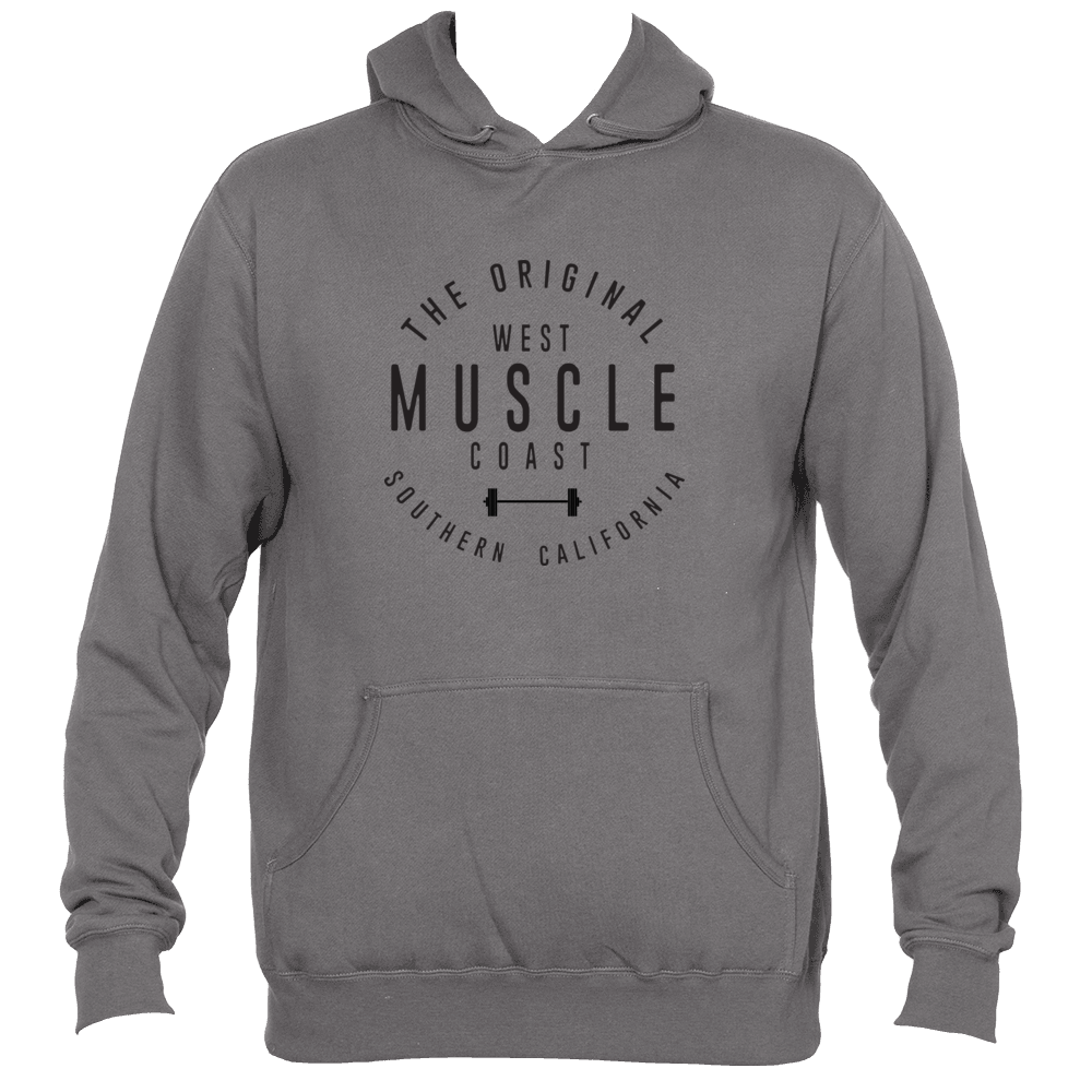 WEST COAST MUSCLE NEWPORT PULLOVER HOODIE
