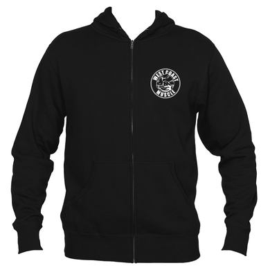 WEST COAST MUSCLE OG LOGO ZIP HOODIE