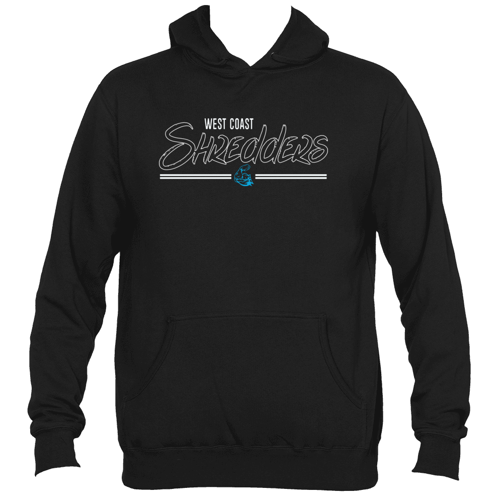 WEST COAST MUSCLE SHRED PULLOVER HOODIE