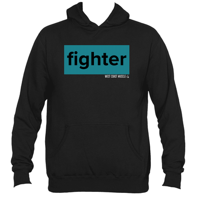 WEST COAST MUSCLE FIGHTER PULLOVER HOODIE