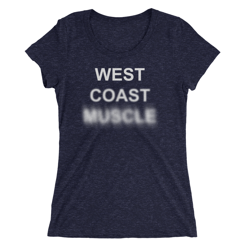 WEST COAST MUSCLE FADING VISIBILITY TEE
