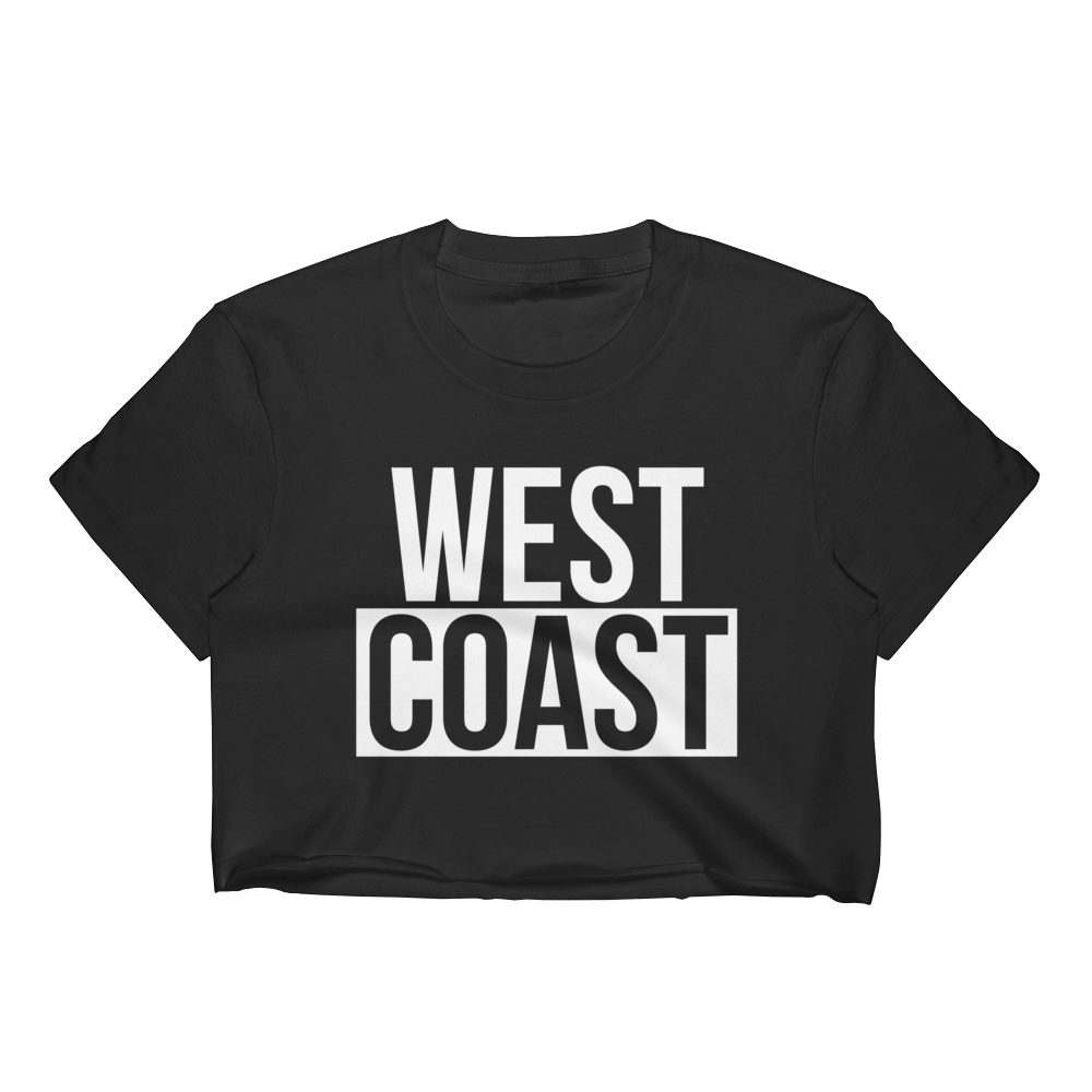 WEST COAST MUSCLE BLOCK PARTY CROP TOP (WOMEN'S)