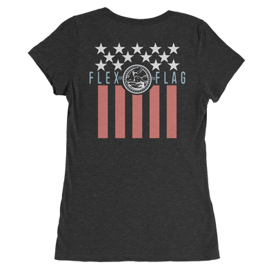 WEST COAST MUSCLE FREEDOM TEE (WOMEN'S)