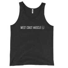 WEST COAST MUSCLE BASIC LOGO TANK