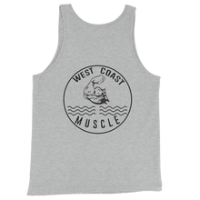 WEST COAST MUSCLE LAID BACK TANK