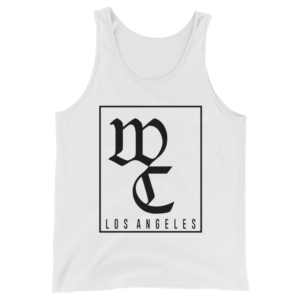 WEST COAST MUSCLE OLD ENGLISH TANK TOP