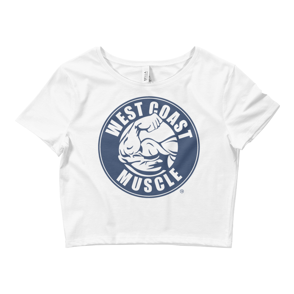 WEST COAST MUSCLE OG LOGO CROP TOP