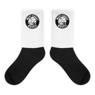 West Coast Muscle OG Logo Socks