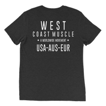 WEST COAST MUSCLE MOVEMENT TEE