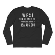 WEST COAST MUSCLE MOVEMENT LONG SLEEVE TEE