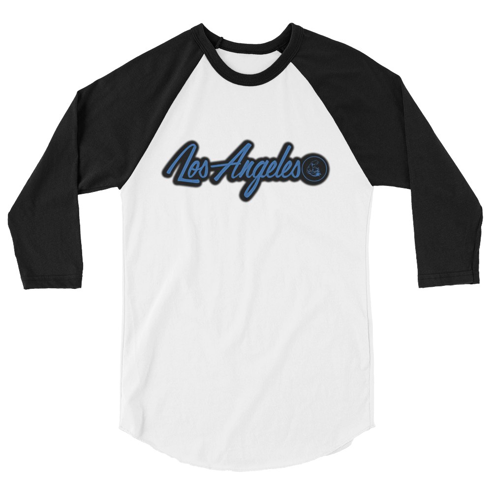 WEST COAST MUSCLE LOS ANGELES BASEBALL TEE