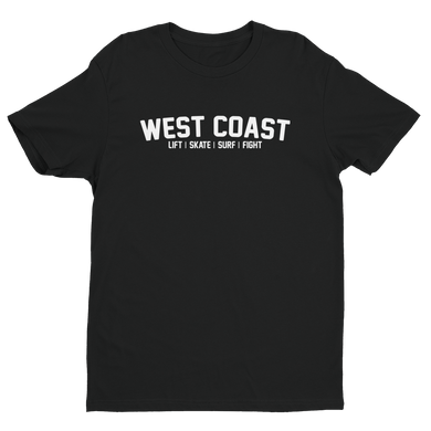 WEST COAST MUSCLE JACK OF ALL TEE