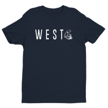 WEST COAST MUSCLE CARDINAL DIRECTION TEE