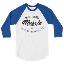 WEST COAST MUSCLE AUTHORITY BASEBALL TEE