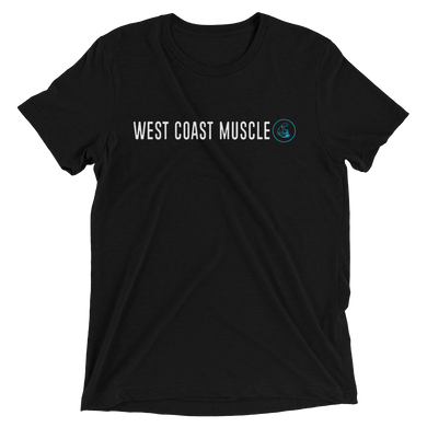 WEST COAST MUSCLE BASIC LOGO TEE