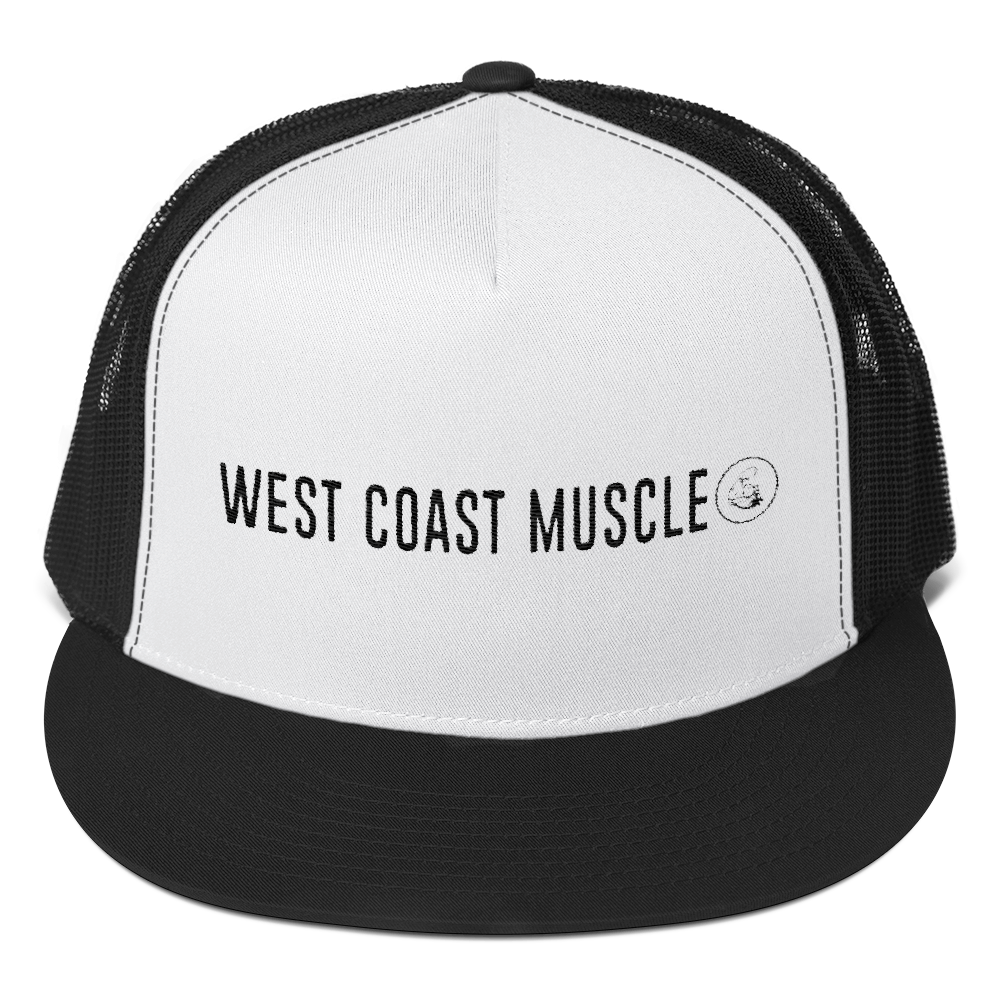 WEST COAST MUSCLE BEACON TRUCKER HAT