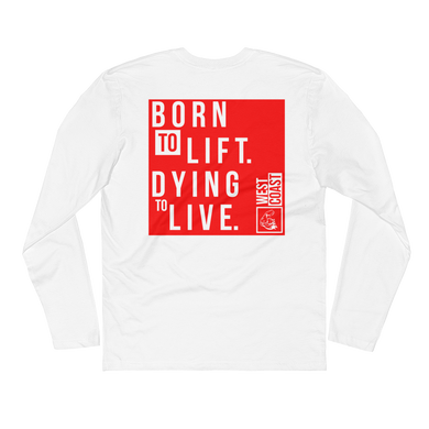 WEST COAST MUSCLE LIFE CYCLE LONG SLEEVE TEE