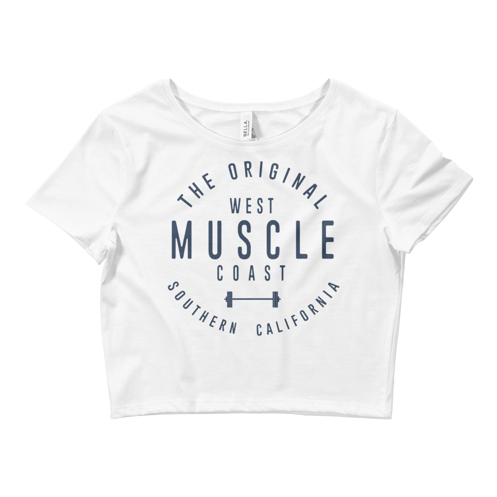 WEST COAST MUSCLE NEWPORT CROP TOP