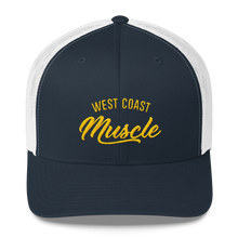 WEST COAST MUSCLE AUTHORITY TRUCKER HAT