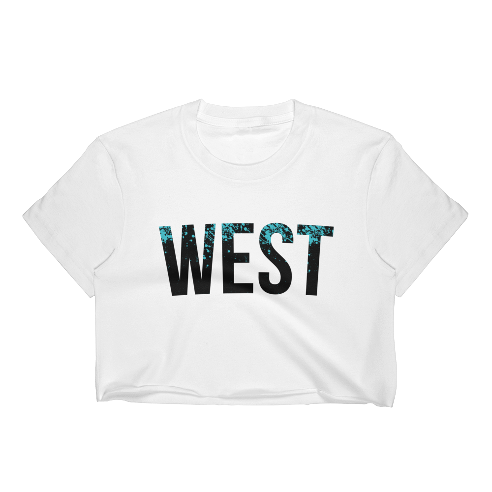 WEST COAST MUSCLE WILD SIDE CROP TOP (WOMEN'S)