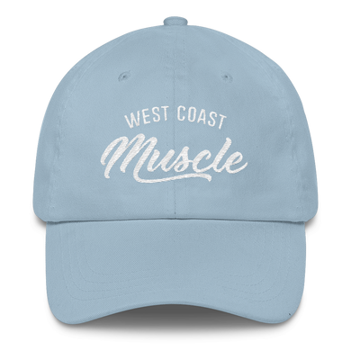 WEST COAST MUSCLE AUTHORITY DAD HAT