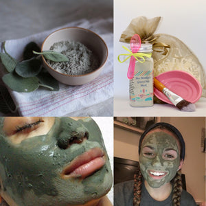Tres Monkey's Green Tea Clay Mask