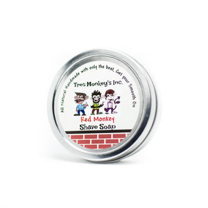 Tres Monkey's Shave Soap