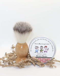 Shave Soap and Brush Kit