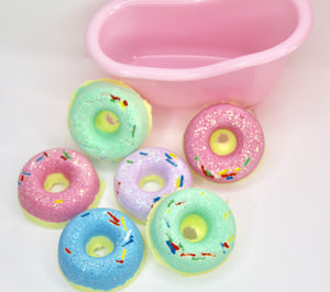 Mini Donut Bath Bombs Sets