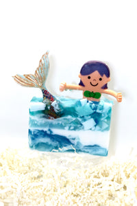 Tres Monkey's Mermaid Soap