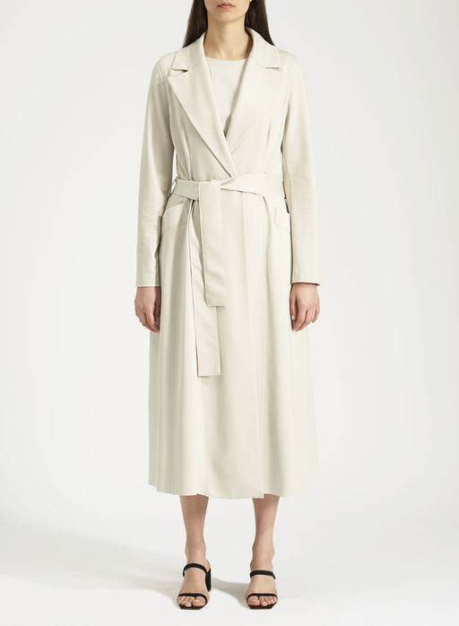 Harris Wharf Lonon Woman long duster coat Light Viscose