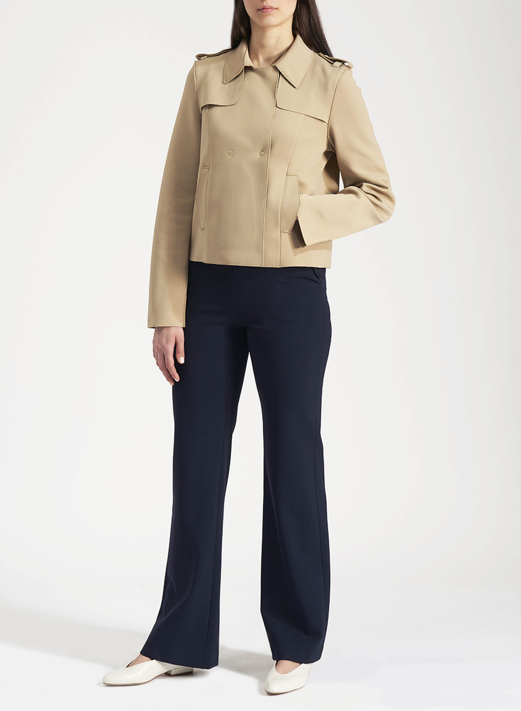 Woman trench jacket Technic