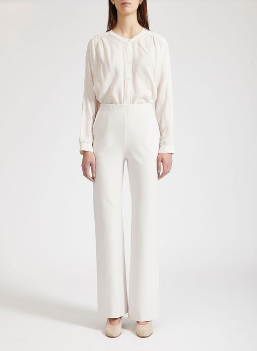 Women flared trousers Crepe Viscose