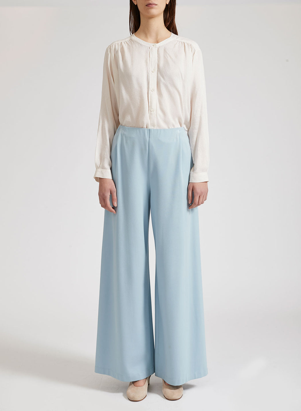 Women palazzo trousers Light Viscose