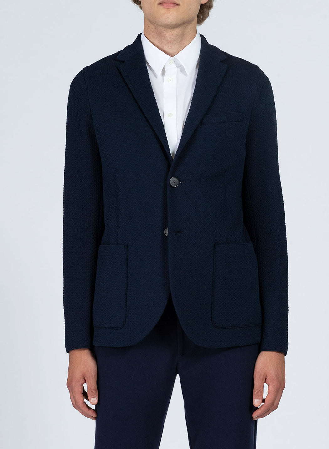 Men 2b. sartorial blazer Cotton Jacquard