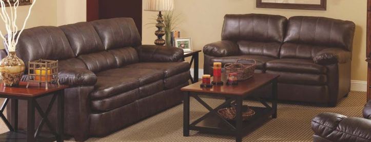 Bernards Air Java Sofa and Love Seat