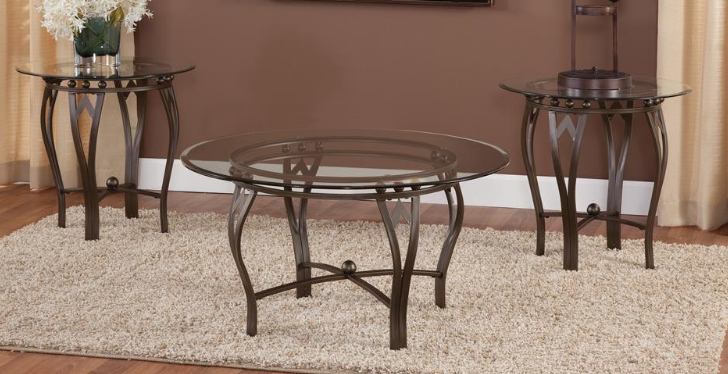 Bernards Arrow Head Table Set