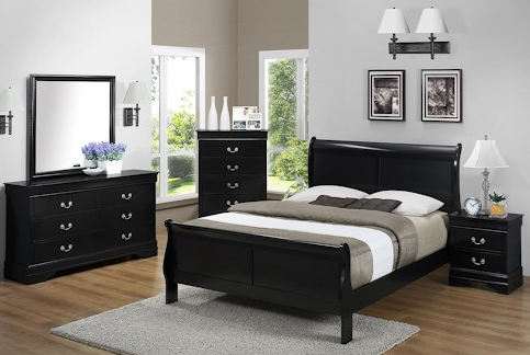 Bernards Jet Queen bedroom set