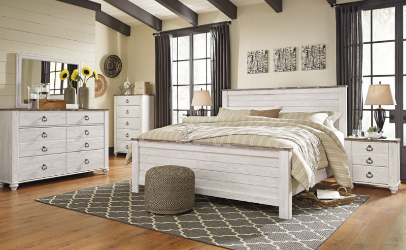 Ashley Willowton Queen Bedroom Set