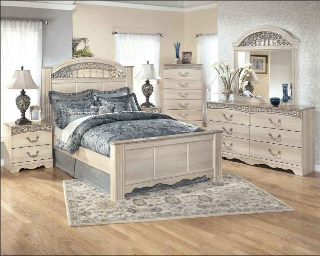 Catalina Bedroom Set Including Mattress and Boxspring