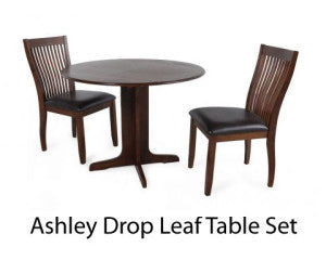 Ashley Round Drop Leaf Table - Clearance