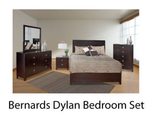Dylan Bedroom Set from Bernards with Pillowtop Mattress and Boxspring