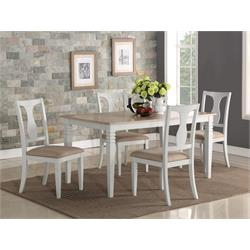 Eden Wood 7-piece Dining Set