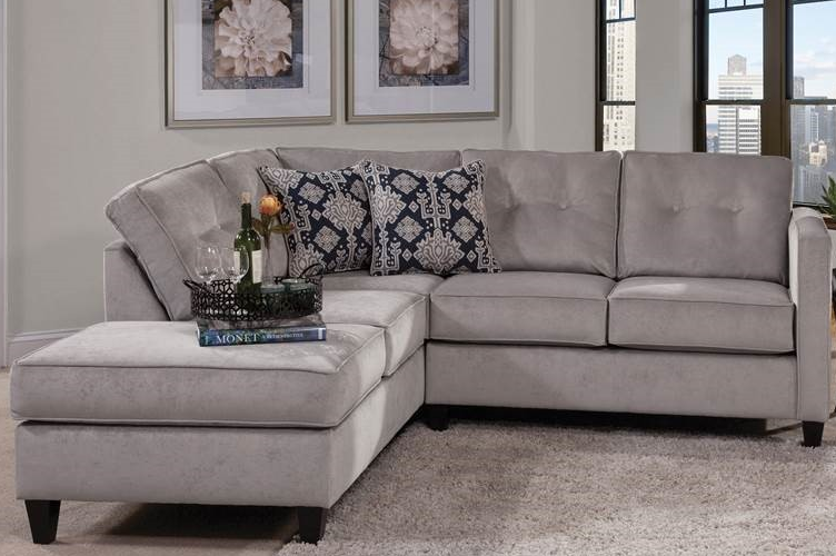 Bernards Elizabeth Silver Sectional