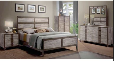 Bernards Henderson Queen Bedroom set