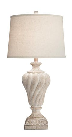 Bernards Padme Urn Table Lamps