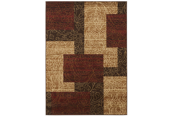 Ashley Rosemont Red Rug
