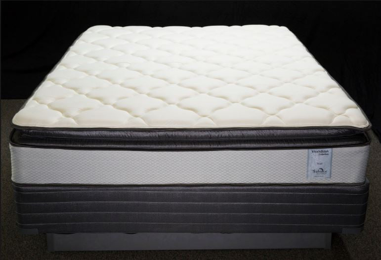 Asheville Bed and Pillowtop Mattress/Boxspring Set