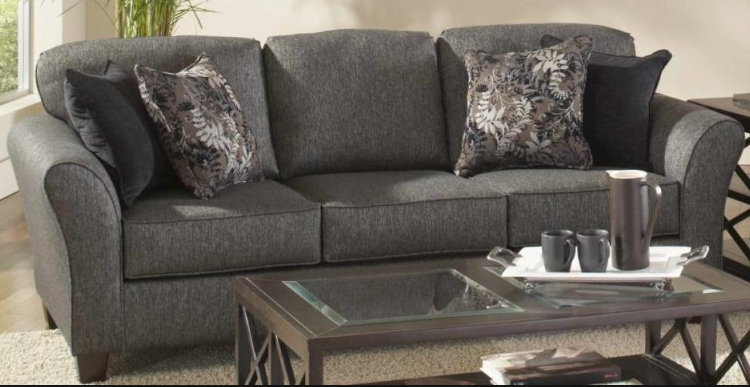 Bernards Stoked Ashes Sofa & Love seat